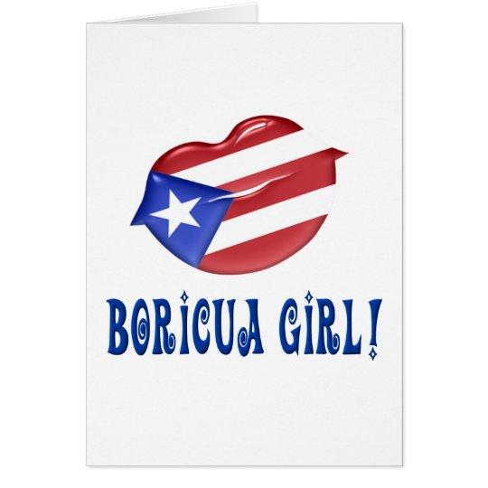 Boricua Girl Card