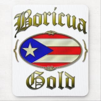 Boricua Gold Mouse Pad