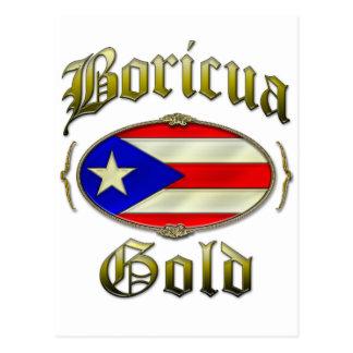 Boricua Gold Postcards