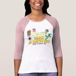 Boricua Hecho en Puerto Rico Tshirt