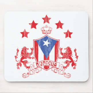 Boricua Heraldy Mouse Pad