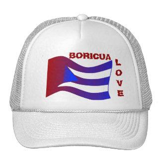BORICUA, LOVE- MESH HATS