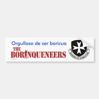Boricua - pegatina para el parachoques etiqueta de parachoque