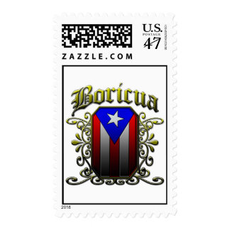Boricua Postage Stamp