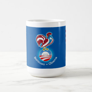Boricuas for Obama 2012 Coffee Mug