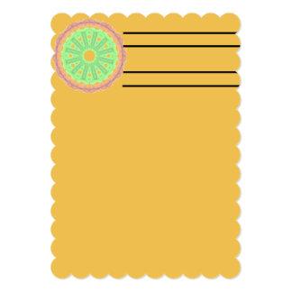 Boring abstract circle pattern card