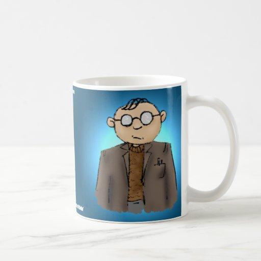 Boring? Classic White Coffee Mug