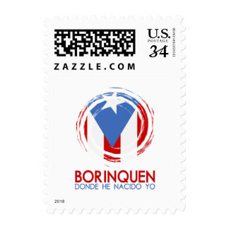 Borinquen: Anthem: Flag of Puerto Rico Postage