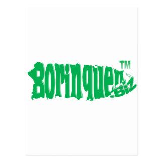 Borinquen Biz green Postcards
