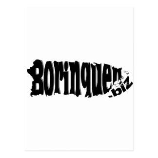 Borinquen biz logo post cards
