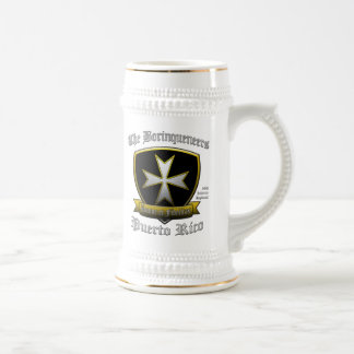 Borinqueneers 18 Oz Beer Stein