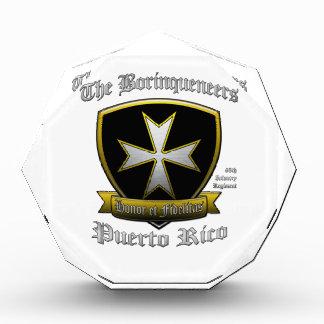 Borinqueneers Acrylic Award