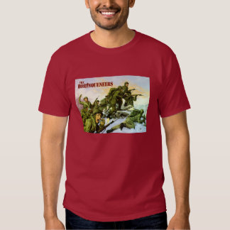 Borinqueneers Painting T-shirt