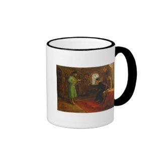 Boris Godunov con Ivan el terrible Taza De Dos Colores