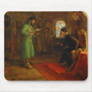 Boris Godunov with Ivan the Terrible Mouse Pad