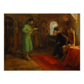 Boris Godunov with Ivan the Terrible Poster