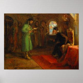 Boris Godunov with Ivan the Terrible Poster