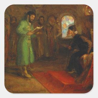 Boris Godunov with Ivan the Terrible Sticker