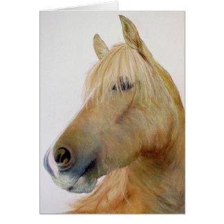 'Boris' Horse Greetings Card