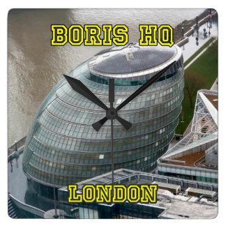 Boris HQ City Hall London Wallclock