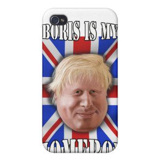 "Boris Johnson, ""Boris is my homeboy"" Mayor iPhone 4 Case"