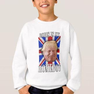 "Boris Johnson, ""Boris is my homeboy"" Mayor Sweatshirt"
