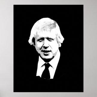 Boris Johnson - Bust - -  Poster