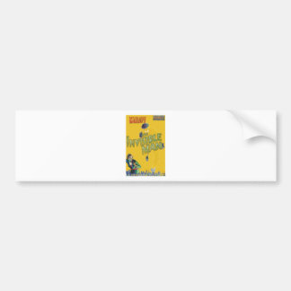 Boris Karloff as The Invisible Man Bumper Sticker