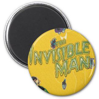 Boris Karloff como el hombre invisible Imán Redondo 5 Cm