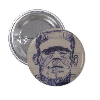 Boris Karloff, el monstruo de Frankenstein, Pin Redondo 2,5 Cm