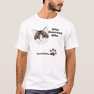 Boris Kitty Rescued T-Shirt
