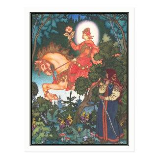 Boris Zvorykin - Vassilissa the Fair Postcard