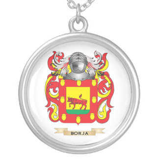 Borja Coat of Arms (Family Crest) Personalized Necklace