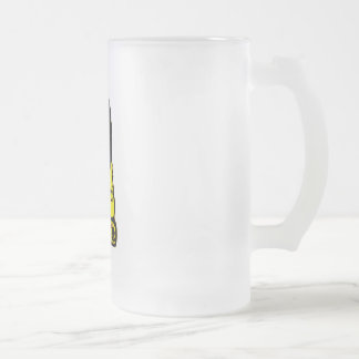 BORJA RESTORATION FROSTED GLASS BEER MUG