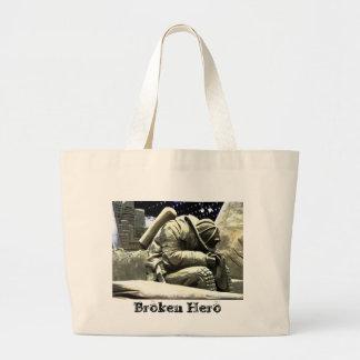 Borken Hero Large Tote Bag