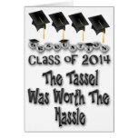 Borla digno de la graduación 2014 del molestia C d Felicitaciones