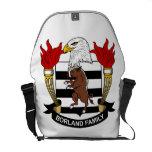 Borland Family Crest Messenger Bags