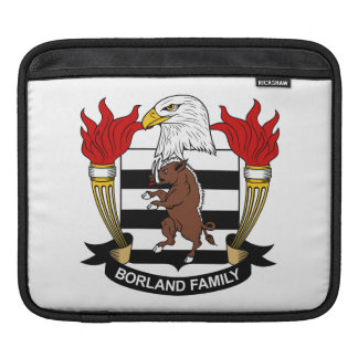 Borland Family Crest Sleeve For iPads