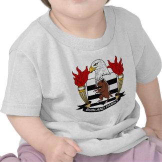 Borland Family Crest T Shirts