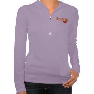 Borman Orange Butterfly Design Shirts
