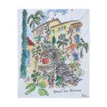 Bormes-les-Mimosas | Provence-alpes-cote d'azur Fleece Blanket
