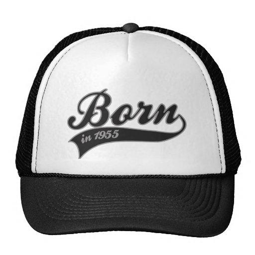 Born1955 - cumpleaños gorras de camionero