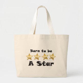 Born2BStar Jumbo Tote Bag