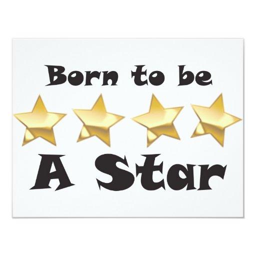 Born2BStar Custom Announcements