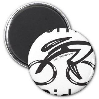 Born2Ride 2 Inch Round Magnet