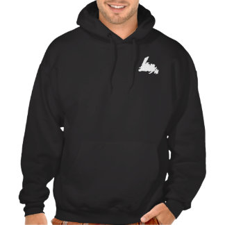 Born a Newfie Die a Newfie on back Hooded Pullover