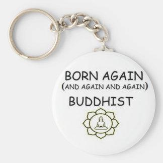 Born Again Buddhist Keychains