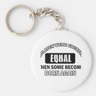 Born Again Job designs Key Chains