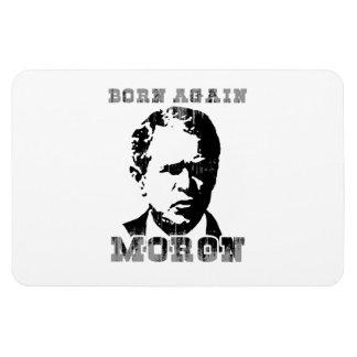 Born again Moron Faded.png Rectangular Photo Magnet