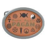 Born Again Pagan Belt Buckles